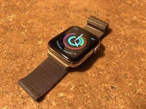 Apple Watch Series 4 Stainless Steel Milanese Loop 44 MM GPS+Cellular