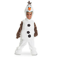NEW Authentic DISNEY STORE Frozen OLAF Snowman Deluxe Halloween Costume NEW 5/6