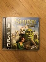 Shrek Treasure Hunt ps1 PlayStation 1  CIB Complete ps2
