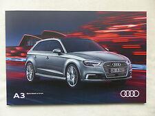 Audi A3 Sportback e-tron - Prospekt Brochure 07.2016