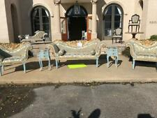 Louis Xvi 5 piece French Reproduction Sofa set Floor Model Clearance