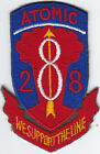 Original 1950s-1960s 28th Field Artillery (Atomic) Patch - Japanese-made