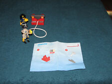 Playmobil firemen fire fighter hose water spray tank # 5829