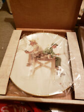 New listing Norman Rockwell 1981 Gorham Collectible Plates 4 Season Series Old Timers 4 Tot