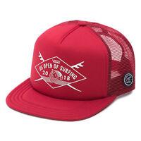 Vans  2018 US OPEN of SURFING Hat (NEW) Shaper Trucker Cap VUSO Chili Pepper Red