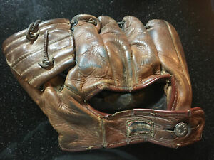 1930s-40s? Baseball Mitt Glove Catchers? Spiegel Mail American Eagle #480 Verban