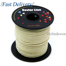 Heavy Duty 100ft 1000lb Kevlar Braided Line for Paracord Survival Tactical