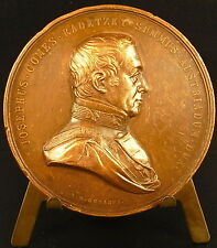 Médaille comte Joseph Radetzky Batailles 1848-1849 Italie Custoza Mortara Novare