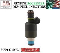 YRS -96-00 GMC C3500 HD 7.4L V8 Rebuilt x1 OEM Fuel Injector Rochester #17106772