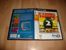 CANNON FODDER 2 DE SENSIBLE SOFTWARE VIRGIN PARA PC CON 2 DISCOS USADO COMPLETO