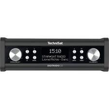 TechniSat DigitRadio 20 Küchenradio Unterbauradio DAB+ AUX UKW Uhr anthrazit