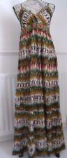 Belle Indian Emporium Multi Couleur Coton Robe Longue Taille XL Bnwt