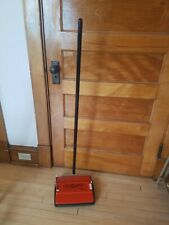 Vintage RETRO 1976 Bissell Gemini Hand Utility Sweeper / Orange