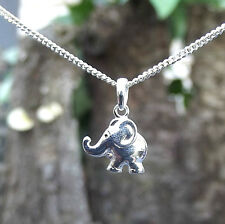 925 Silber Kette+Anhänger Kleiner Elefant  Kinderschmuck Kinderkette