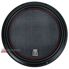 "MTX Audio 9512-22 Car Stereo 12"" Woofer DVC 2-Ohm Subwoofer 2,400W Sub New"