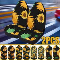 2pcs Neoprene Car Seat Cover Universal Front Seat Full Set Protector