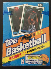 New listing Topps 1992-93 NBA Basketball Series 1 Picture Cards Sealed Gold Michael Jordan