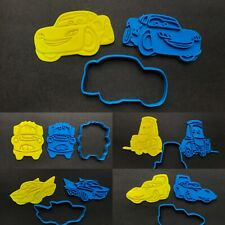 Lightning McQueen Disney Cars Cookie Cutter Stamp Mater Flo Guido the King