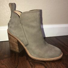 UGG Australia Pixley Women's Sz 8 Mysterious Leather Ankle Boots Bootie 1085057