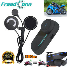 TCOM-VB Bluetooth Helmet Motorcycle Interphone BT Intercom Boom Headset 800m FM