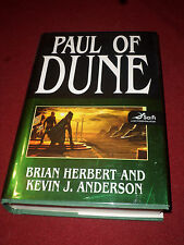 Paul of Dune by Brian Herbert & Kevin J. Anderson (2008, HC) SIGNED first