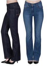Unbranded Denim Straight Leg Trousers for Women