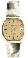Omega Constellation 18 carati 116g Uomo-quartzchronometer-goldbanduhr-circa 1970