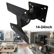 TV Wall Bracket14-24inch Tilt Swivel LCD LED Plasma TV Wall Mount Fixed UK sell