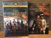 The Magnificent Seven (DVD) Disc G Yul Brynner Steve McQueen Eli Wallach