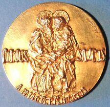 Pope Paulus VI 1975 Golden Silver Medal