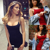Womens Bandage Bodycon Evening Party Cocktail Short Mini Dress Clubwear Sexy Hot