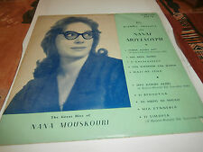 "nana mouskouri""the great hits of""lp10""or.grec.fidelity:0103pr.biem 1ére press"