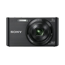 Sony Cyber-shot DSC-W830 20.1MP Digital Camera - Black