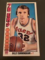 1976 Topps # 93 Billy Cunningham 76ers HOF