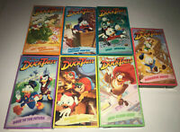 Disneys Ducktales Lot of 7 VHS Tapes Animated Cartoon Episodes Used Tested