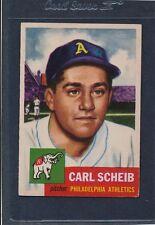 1953 Topps #057 Carl Scheib A's EX 53T57-41616-1