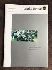 Aston Martin Works Torque Customer Magazine August 2002 10th V12 Vanquish DB7