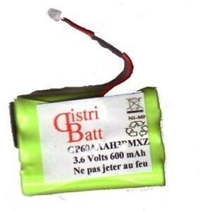 PK1278C - Batterie Matracom MC901, MC902,GP60AAAh3BMX