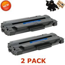 2 pk MLT D105L Toner Cartridge For Samsung ML-2525W SCX-4623F SCX-4600 ML-2525