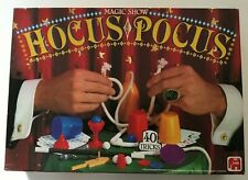 Vintage Hocus Pocus Magic Show Kit Game Toy Jumbo 5-83 1982