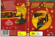 Dvd *FLASH GORDON* 1980 Universal Pictures Early Cult Sci-Fi Comic Strip Classic