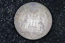 New listing 1909 - J German States Hamburg Silver 3 Mark! #H8776