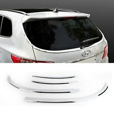 Rear Glass Trim Chrome Cover Molding K-875 For HYUNDAI 2013-2016 Grand SantaFe