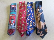 V5594 Animated Cartoon Polyester Wide Ties