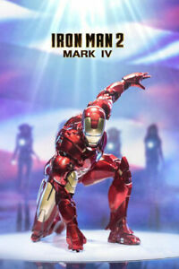 ZD ys Iron Man 2 Mark IV MK4 7inch Action Figure Model Gift Collectible Gift