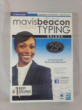 Mavis Beacon Teaches Typing Deluxe (25th anniversary edition)