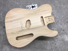 Telecaster Guitar Body Poplar Unfinished
