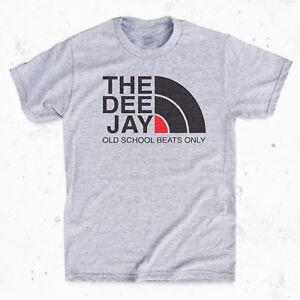 THE DEE JAY T-Shirt - Old school Vinyl Hip Hop 90s Rap Tee