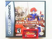 Fire Emblem Binding Blade Game / Case Gameboy Advance GBA - English Translated