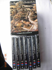 Lord of the Rings Part One Fellowship of the Rings cassettes read by Rob Inglis